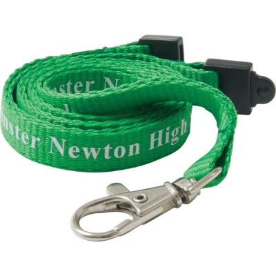 Image of 10mm Flat Polyester Lanyard