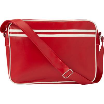 Image of PVC messenger bag