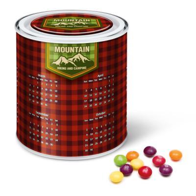 Image Of Calendar Tin Skittles