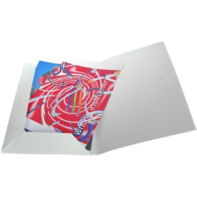 Image of Polypropylene Conference Folder - Frosted White