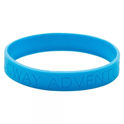 Image of Silicone Wristband (Adult: Recessed Design)