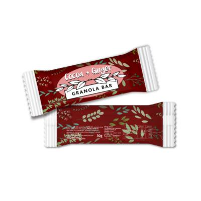 Image of Flow Wrapped All Natural Granola Bar Cocoa & Ginger