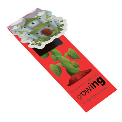 Image of Shaped Folding Magnetic Bookmarks