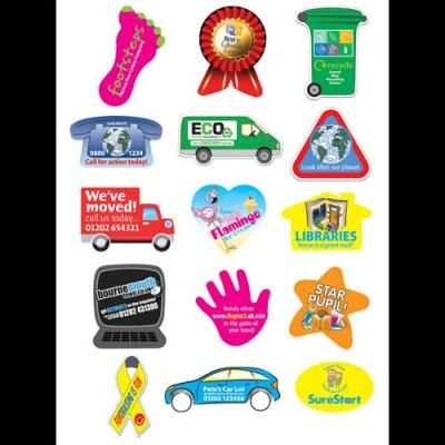 Image of Rectangular Paper Stickers: 25 x 51mm 35 per sheet
